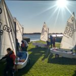 RYA Optimist North Zone Squad Visit